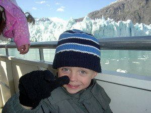 Thumbs up for Glaciers